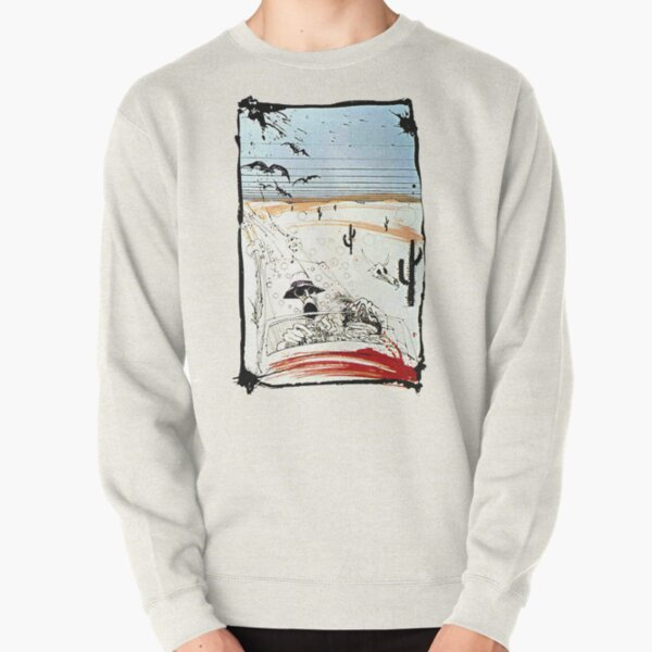 Fear and This is bat country - Loathing in Las Vegas Pullover Sweatshirt