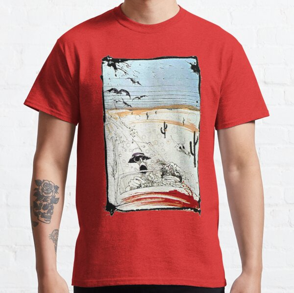 Fear and This is bat country - Loathing in Las Vegas Classic T-Shirt