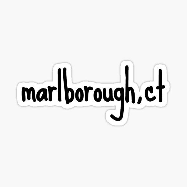 marlborough, sct Sticker
