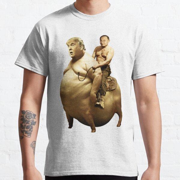 Putin riding Trump Classic T-Shirt