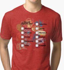 Drink Around the World - EPCOT Passport Tri-blend T-Shirt