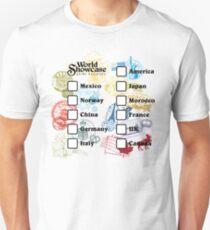Drink Around the World - EPCOT Passport Slim Fit T-Shirt