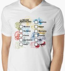 Drink Around the World - EPCOT Passport Men's V-Neck T-Shirt