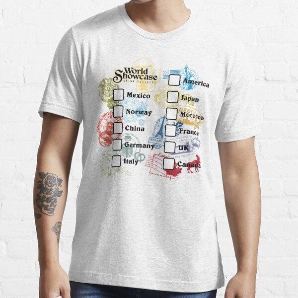 Drink Around the World - EPCOT Passport Essential T-Shirt