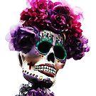 Dia De Los Muertos Skull 4 by Heather Friedman