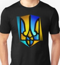 Blue and Yellow Tryzub T-Shirt