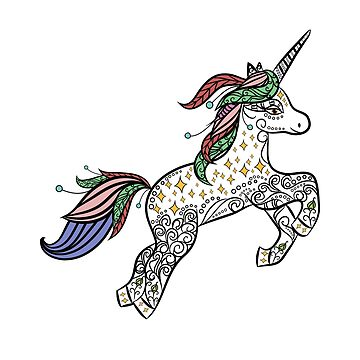 Unicorns: Mystic & Magical Animals of The Forest by lol-tshirts