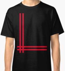 Telekon style Numan stripes Classic T-Shirt