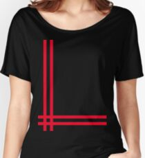 Telekon style Numan stripes Women's Relaxed Fit T-Shirt