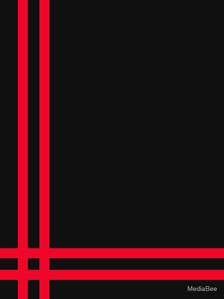 Telekon style Numan stripes by MediaBee