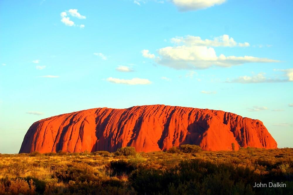 Uluru Sunset by John Dalkin