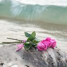 Beach Roses by Maria Dryfhout