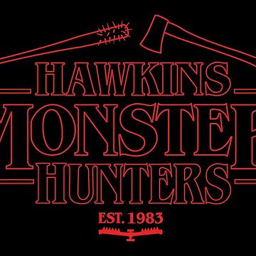 Hawkins Monster Hunters by jayveezed