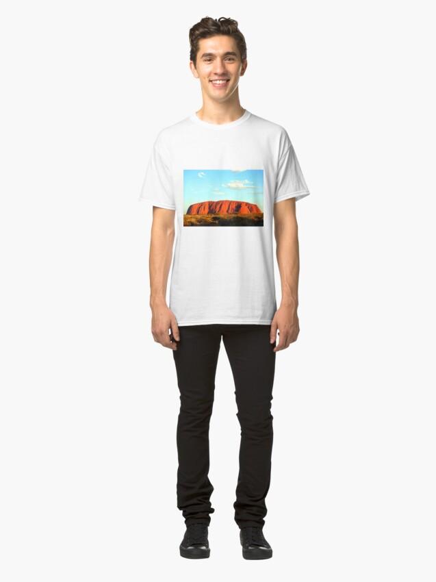 Alternate view of Uluru Sunset Classic T-Shirt