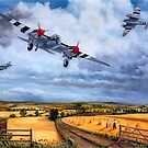 PR Mossie returning after D-Day by Woodie