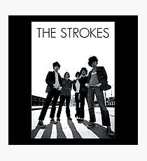 the strokes - A person should design the way he makes a living around how he wishes to make a life. Photographic Print