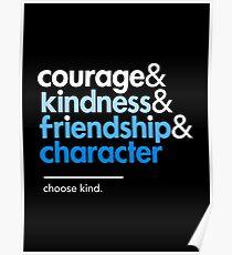 Be a Wonder, Choose Kind Poster