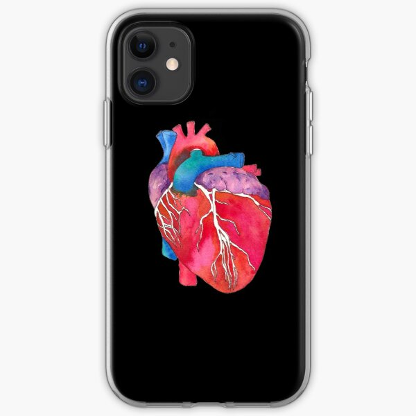 Anatomical Heart iPhone Soft Case