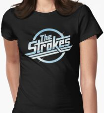 the strokes - Design can have such a positive impact on the way people live and on their relationships and moods. Women's Fitted T-Shirt