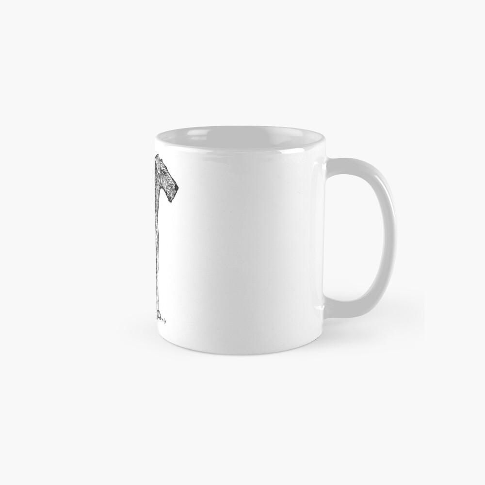 Airedale Terrier Zeichnung Tassen