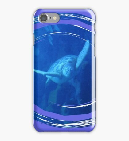 At Ease In Your Own Shell iPhone Case/Skin