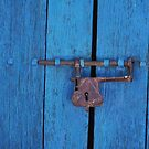 Old Lock on a Church Door by dare2go
