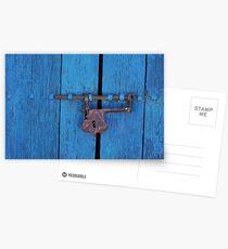 Old Lock on a Church Door Postcards