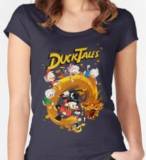 Ducktales Women's Fitted Scoop T-Shirt