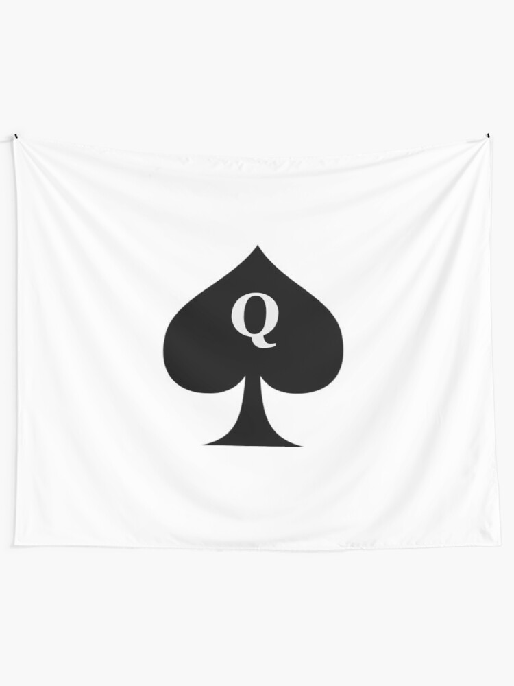 Queen Of Spades Hotwife Gifts Q Inside Black Spade Gift Ideas For Bbc Swinging Hot Wife Big Swingers Tapestry By Merkraht Redbubble