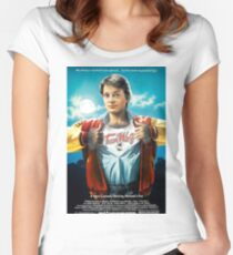 80's Teen Wolf Women's Fitted Scoop T-Shirt