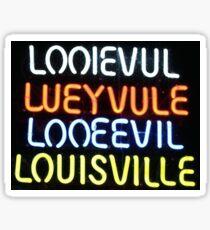 Loo-uh-vull Sticker