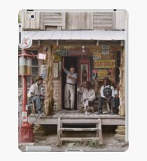 1939: Country store on dirt road. Sunday afternoon iPad Case/Skin