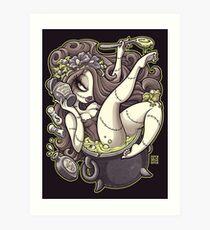 Worm's Wort Soup Art Print