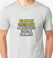Funny Chemist .. Evolution T-Shirt