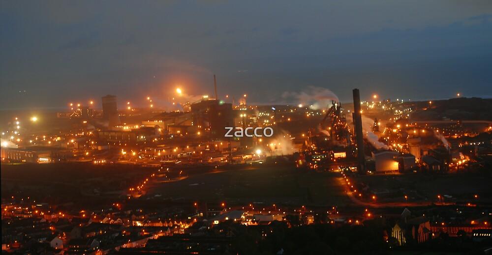 steelworks port talbot by zacco