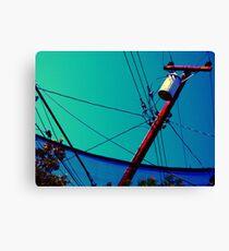 Telecom Highway Canvas Print