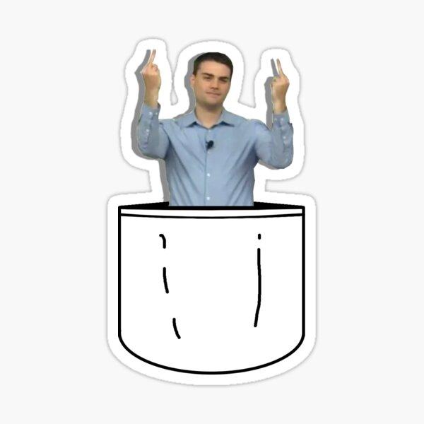 Ben in Pocket Sticker