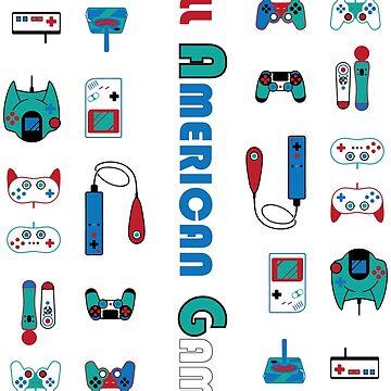 All American Gamer by 3DApparel