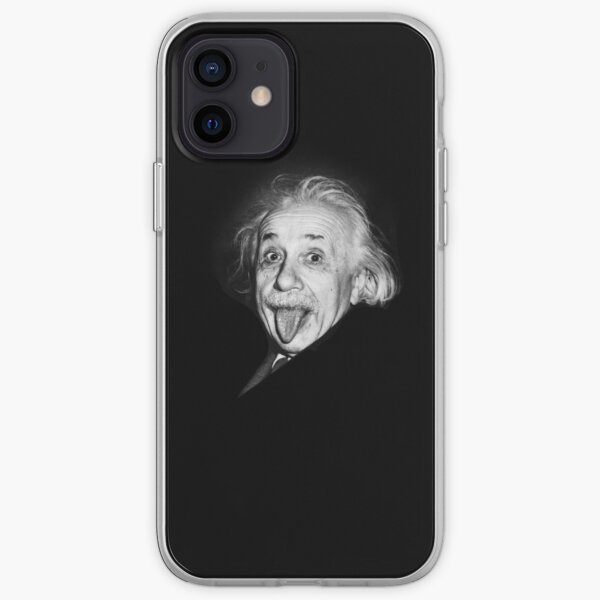 Divertido Einstein Funda blanda para iPhone