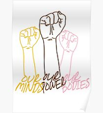 OUR MINDS, OUR POWER, OUR BODIES Poster