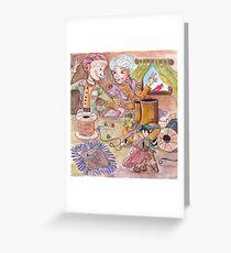 YTAC, Elves and the Shoe Maker Illustration Greeting Card