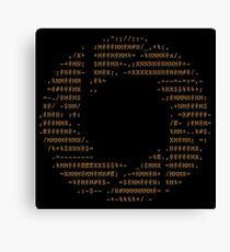 Portal - Aperture Science Code Logo Canvas Print