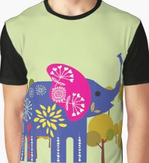 Decorated elephant Graphic T-Shirt