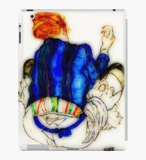 "Egon Schiele ""Seated Woman, Back View"", 1917 enhanced iPad Case/Skin"