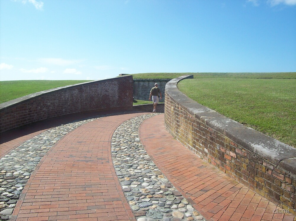 Fort Macon Entrance by diann
