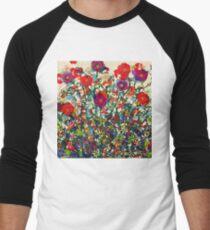 Blooming Garden Men's Baseball ¾ T-Shirt
