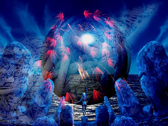 Out of the Blue......World of Fantasy by Julia Mainwaring-Berry