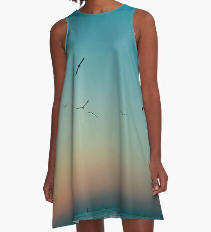 (So ist) gegangen A-Linien Kleid