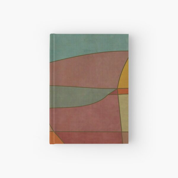 """""""Colorful Abstract Landscape""""  Hardcover Journal"""
