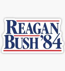 Vintage eighties - Reagan Bush '84 Sticker